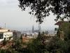 Sagrada Familia vom Park Güell aus