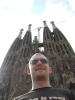 Ich vor der Sagrada Familia