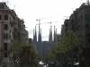 Sagrada Familia vom Hospital de Sant Pau aus