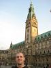 Ich am Hamburger Rathaus