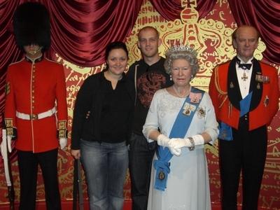 Wir und die Königsfamilie