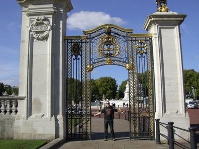 Am Platz vor dem Buckingham Palace