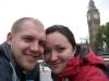 Wir bei der Bootsfahrt auf der Themse