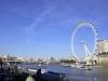 Themse und London Eye