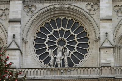 Fassade von Notre Dame