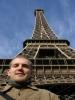 Ich am Eiffelturm