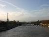Blick auf die Seine und den Eiffelturm