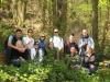 Gruppenfoto im Wald