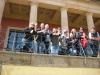 Gruppenfoto an der Villa Ludwigshöhe...