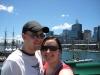 Wir am Darling Harbour