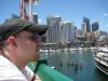 Alex am Darling Harbour