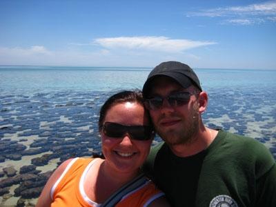 Stromatoliten im Hamelin Pool