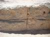 kompakt gepresste Steine aus Muscheln für den Hausbau