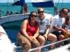Auf der Segeltour