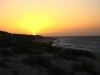 Warten auf den Sonnenuntergang