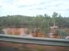 Floodway am Straßenrand